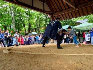 軽井沢の花火大会と中軽井沢のお祭り「祇園祭」